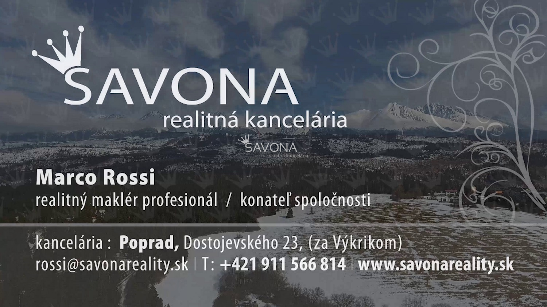 **VIDEO**- CHATA SEN, Tatranská Štrba