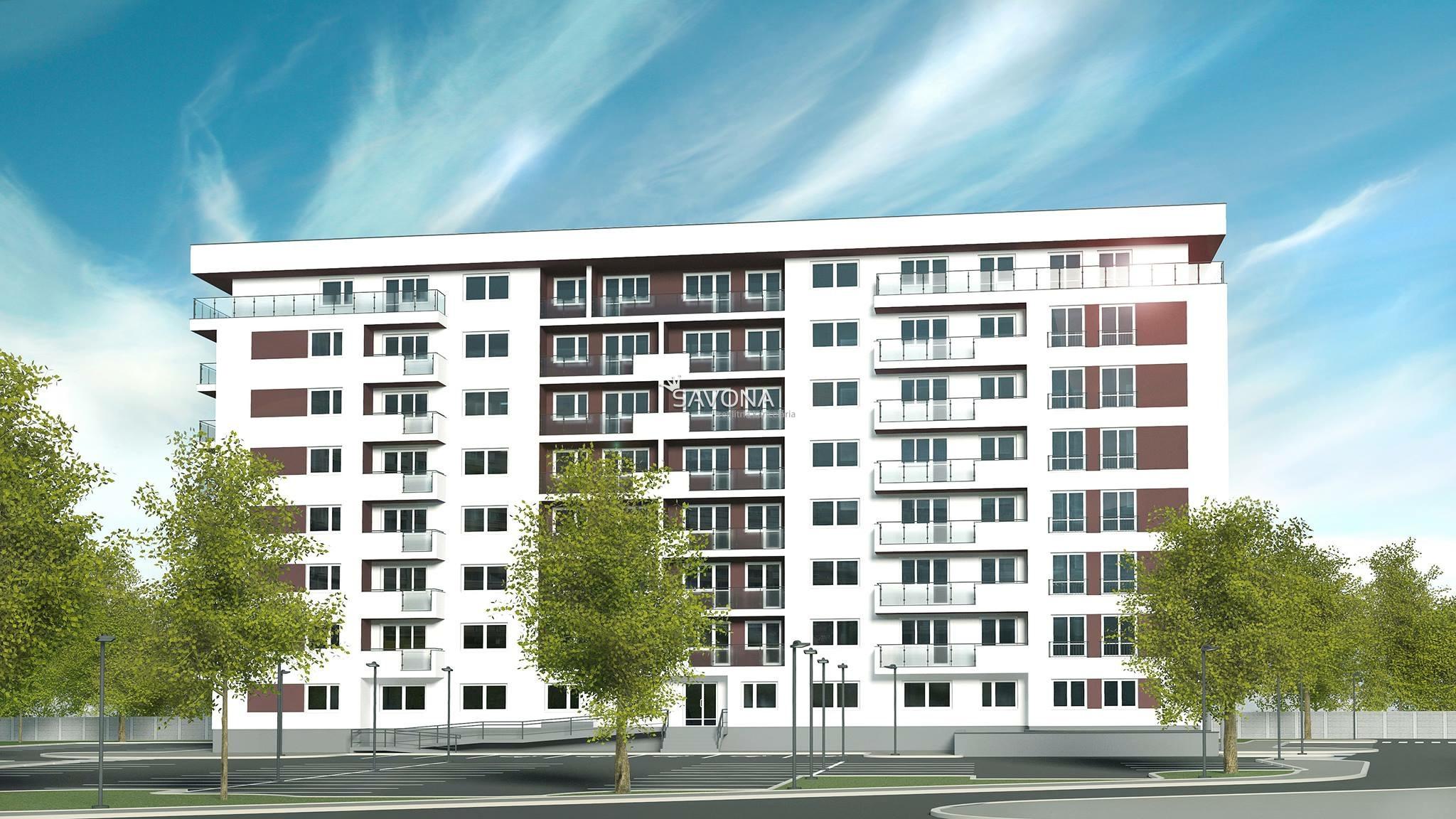 URSUS - 3 izbový byt *B8* - 77,23 m2 + loggia 8,06 m2