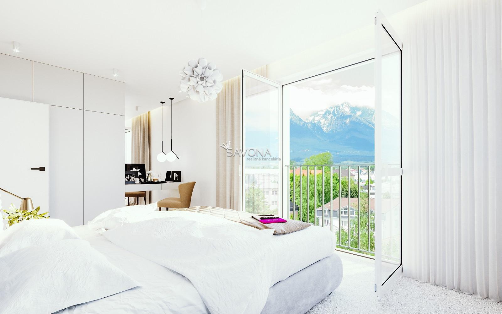 URSUS - 3 izbový byt B6 - 74,52 m2 + balkón 5,36 m2