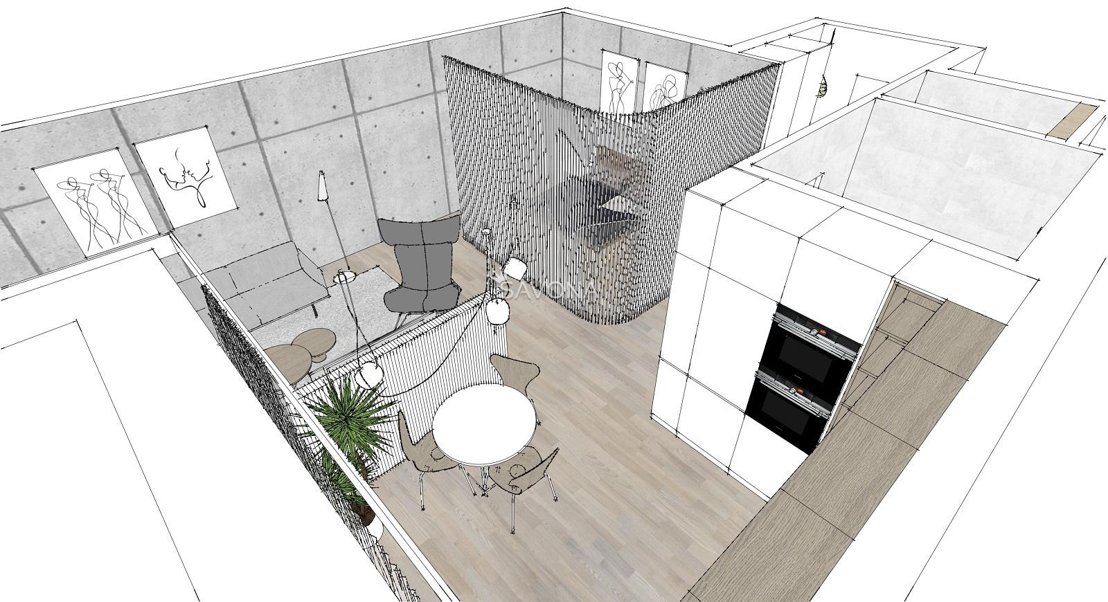 PREDANÝ - URSUS - B10 -  byt o výmere 54 m2 + parkovacie státie, sídlisko Západ - POPRAD