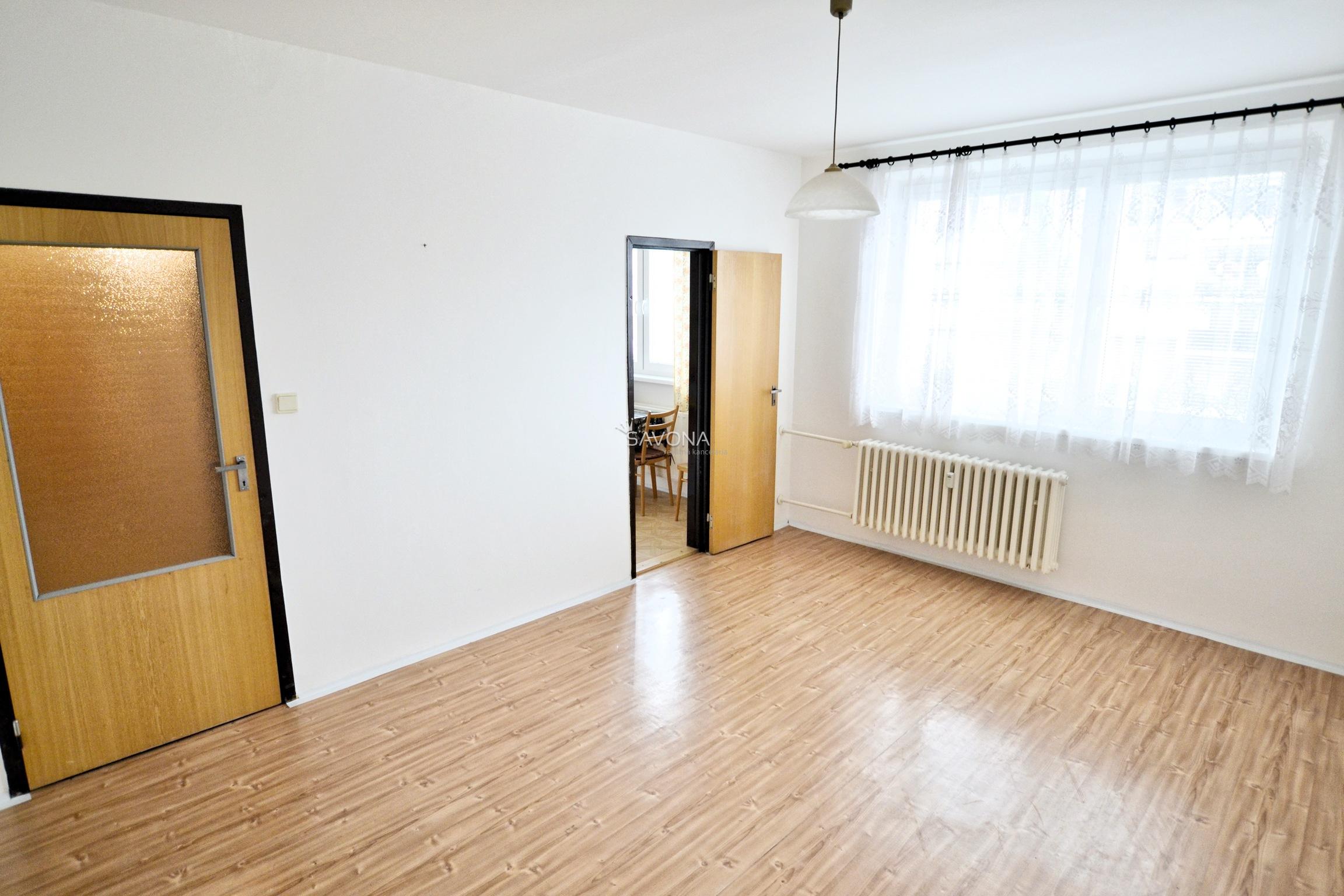 REZERVOVANÉ/EXKLUZÍVNE - 1-izbový byt, po čiastočnej rekonštrukcii, Starý Juh