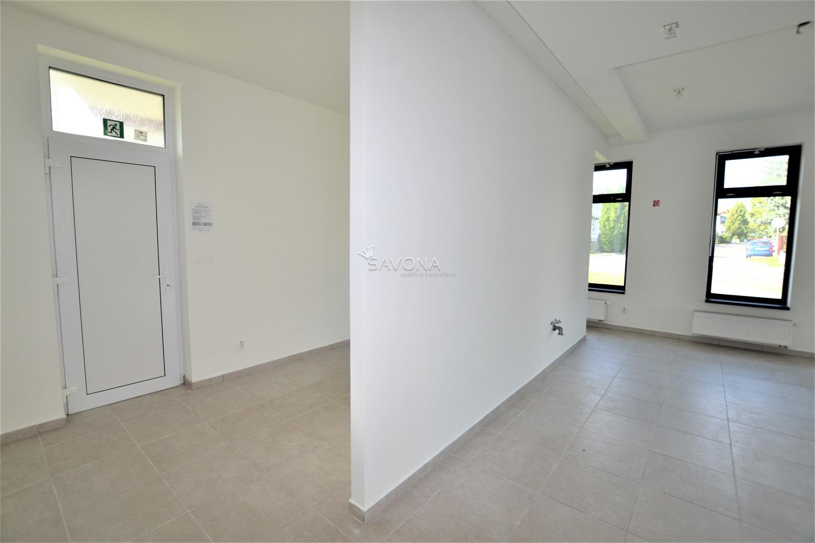 NA PRENÁJOM – PRIESTORY – 119 m2, v novostavbe polyfunkčného domu – SVIT