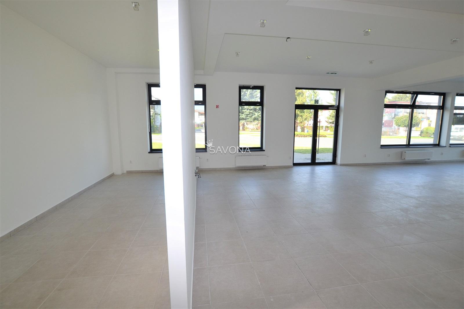 PRENAJATÝ – PRIESTORY – 119 m2, v novostavbe polyfunkčného domu – SVIT